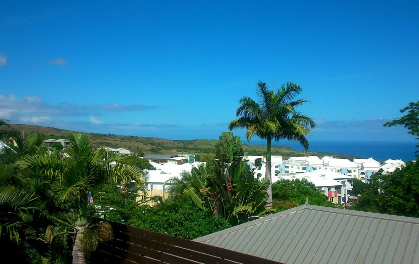 Location de vacances - Villa à Saint-Paul - Vue depuis la terrasse