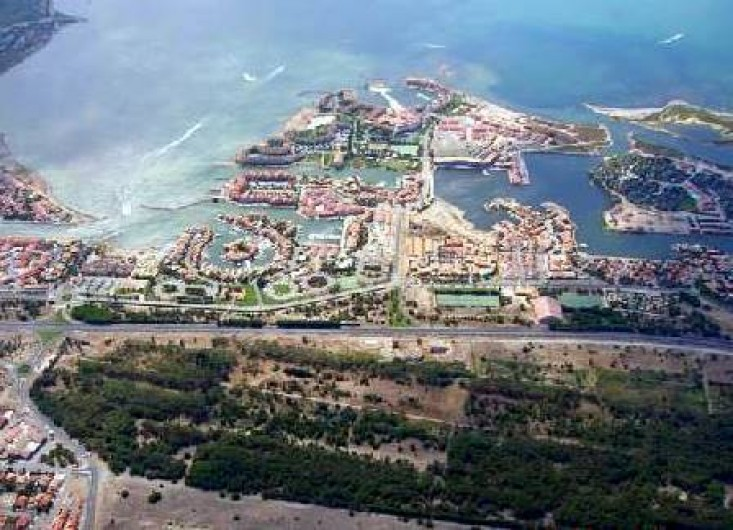 Location de vacances - Appartement à Le Barcarès - vue aérienne de la résidence