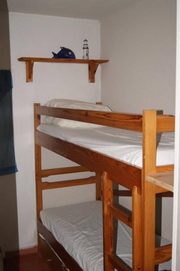 Location de vacances - Appartement à Le Barcarès - le coin cabine