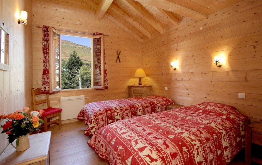 Location de vacances - Chalet à Les Deux Alpes - chambre 1