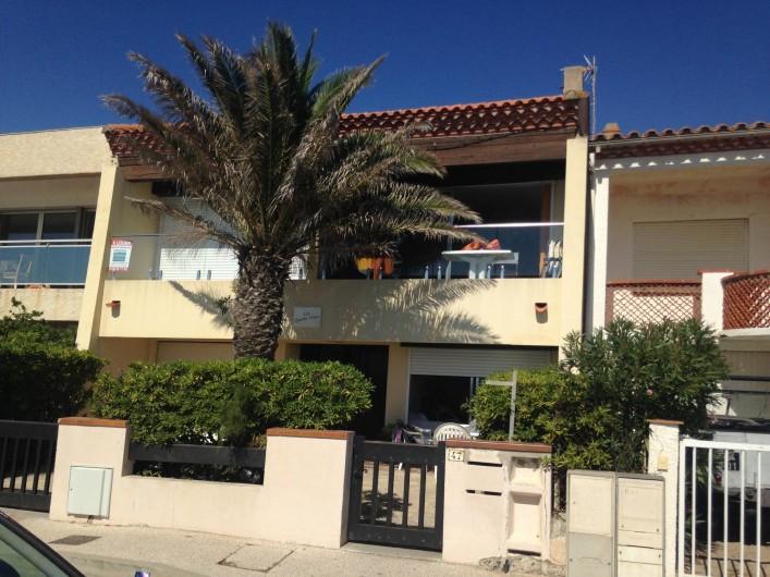 """Location de vacances - Appartement à Leucate - villa """"les 4 vents"""""""
