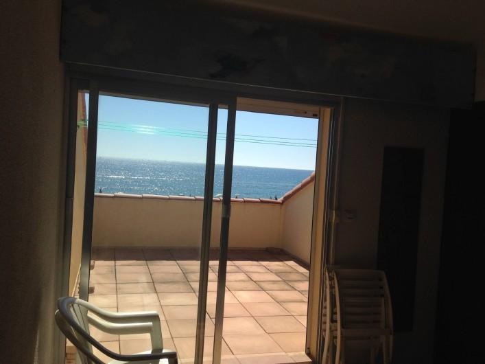 Location de vacances - Appartement à Leucate - chambre parentale