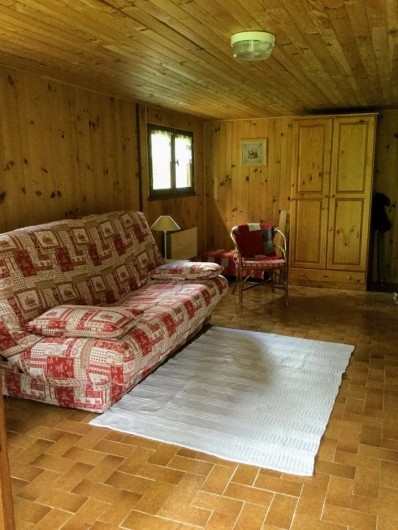 Location de vacances - Chalet à Lans-en-Vercors - salon tv