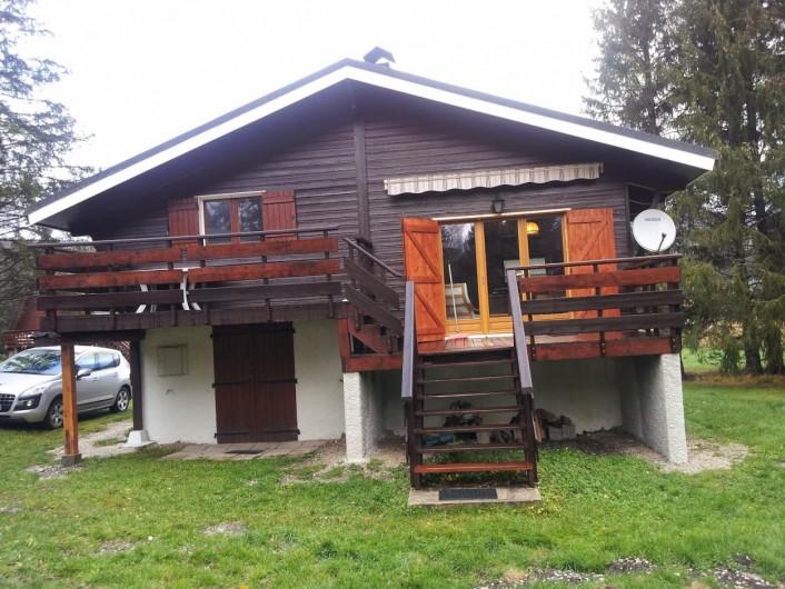 Location de vacances - Chalet à Lans-en-Vercors - façade sud