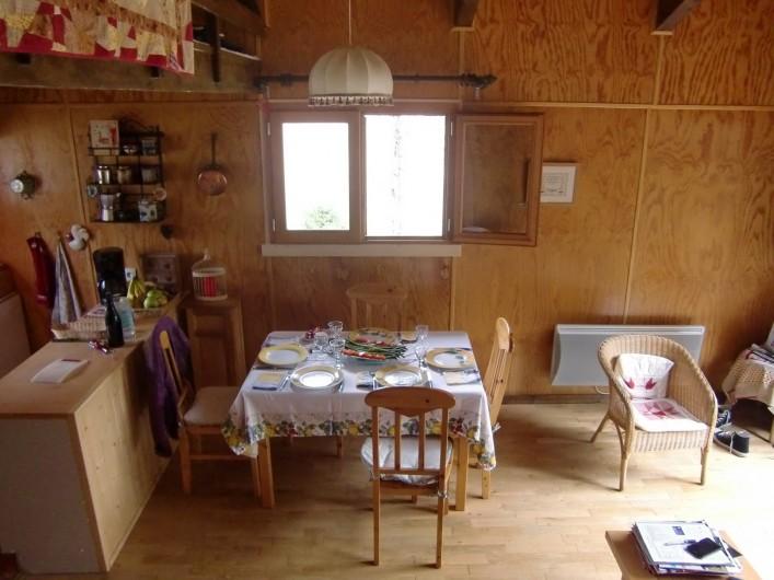 Location de vacances - Chalet à Lans-en-Vercors - salle à manger