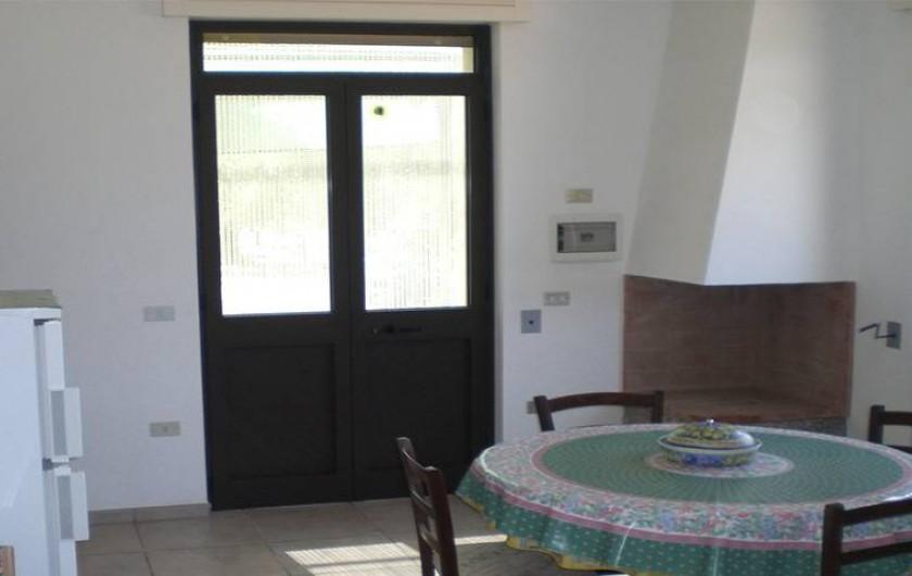 Location de vacances - Villa à Gallipoli - Interieur maison Ortensia visible sur