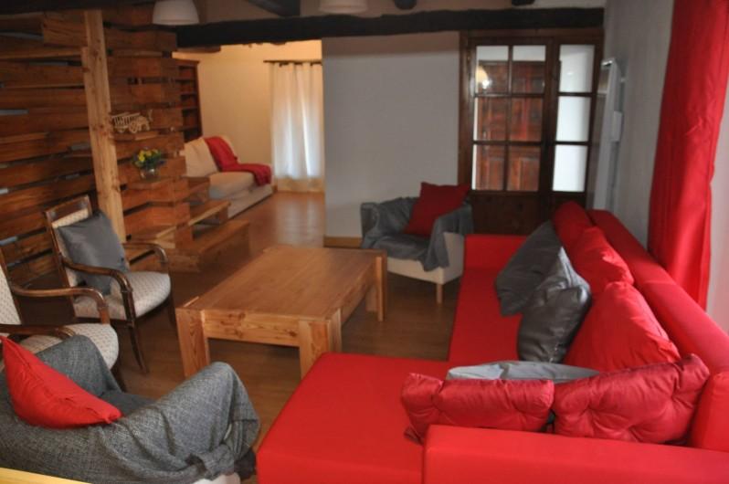 Location de vacances - Appartement à Puy-Saint-Vincent - Le salon convivial
