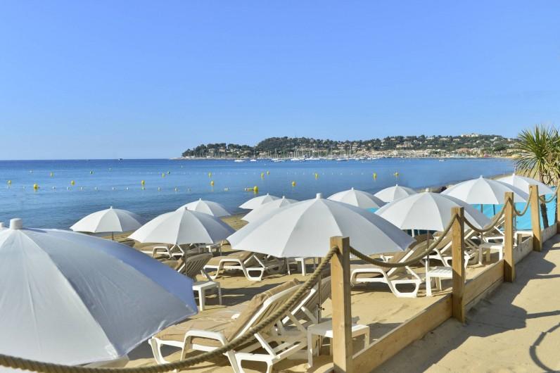 Location de vacances - Chambre d'hôtes à Cavalaire-sur-Mer - Plages Partenaires