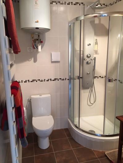 Location de vacances - Gîte à Selles-sur-Cher - toilette , douche
