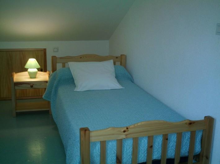 Location de vacances - Appartement à Gérardmer - chambre2                lit 1 personne