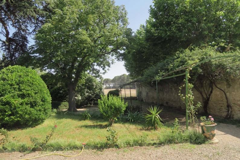 Location de vacances - Chambre d'hôtes à Ouveillan - la tonnelle