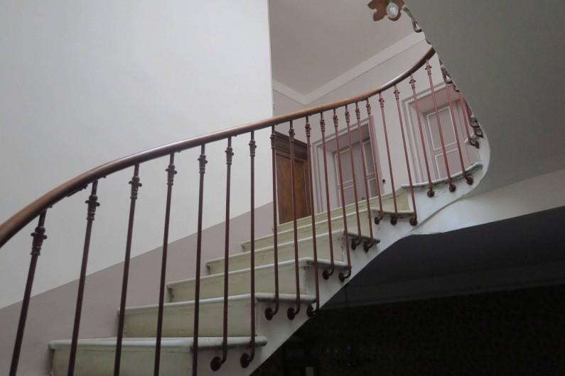Location de vacances - Chambre d'hôtes à Ouveillan - vers les chambres