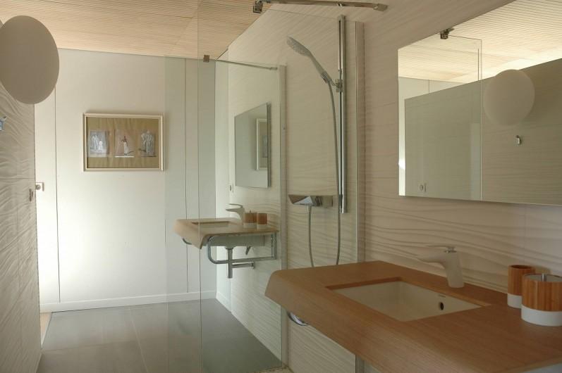 Location de vacances - Chambre d'hôtes à Nîmes - Sdb Calme