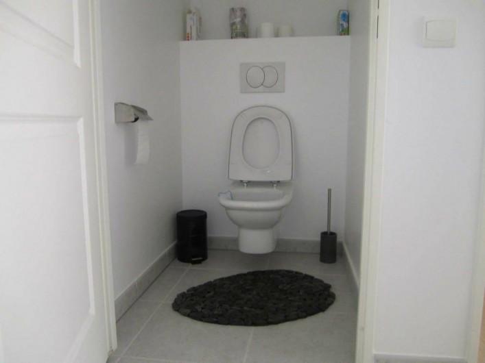 Location de vacances - Appartement à La Ciotat - WC séparés