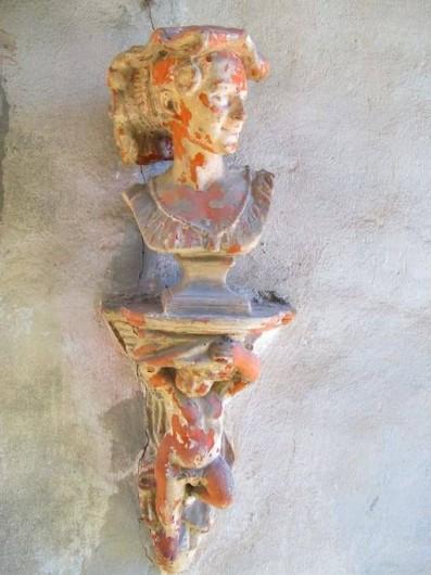 Location de vacances - Villa à Isola San Giulio - ornemente sur facade