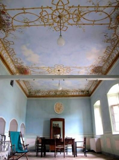 Location de vacances - Villa à Isola San Giulio - salon du rez de chaussée