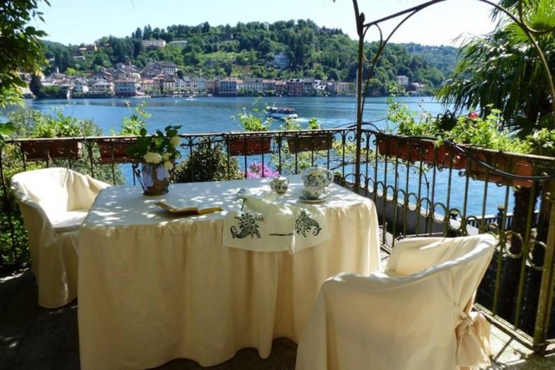 Location de vacances - Villa à Isola San Giulio - terrasse