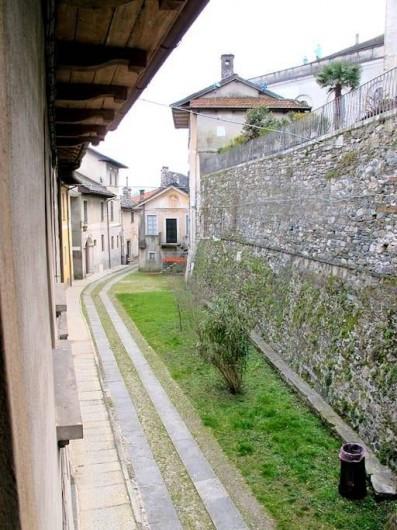 Location de vacances - Villa à Isola San Giulio - rue del'ile