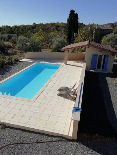 Location de vacances - Villa à Les Vans - Piscine