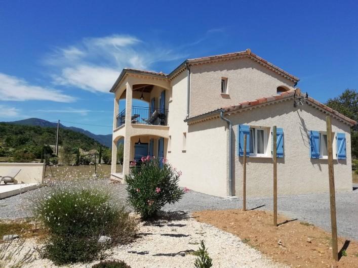 Location de vacances - Villa à Les Vans - Le Granzon et L'Ermitage