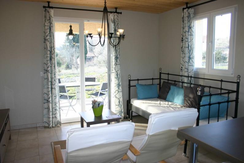 Location de vacances - Villa à Les Vans - Le Séjour
