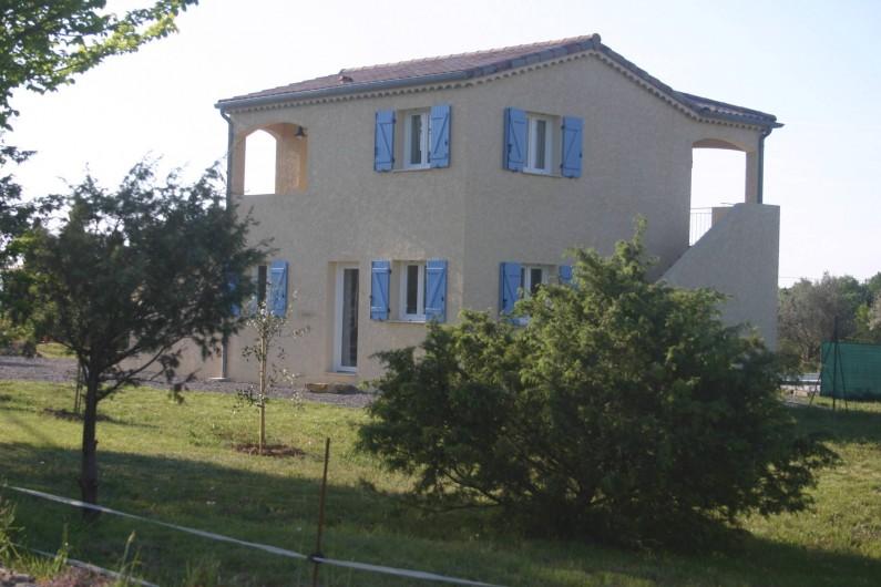 Location de vacances - Villa à Les Vans - maison avec studio en haut