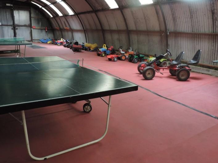 Location de vacances - Gîte à Lontzen - Le grand hall de jeux