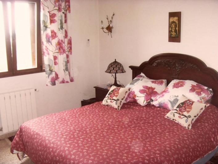 Location de vacances - Villa à Dénia - Chambre 1 coté mer
