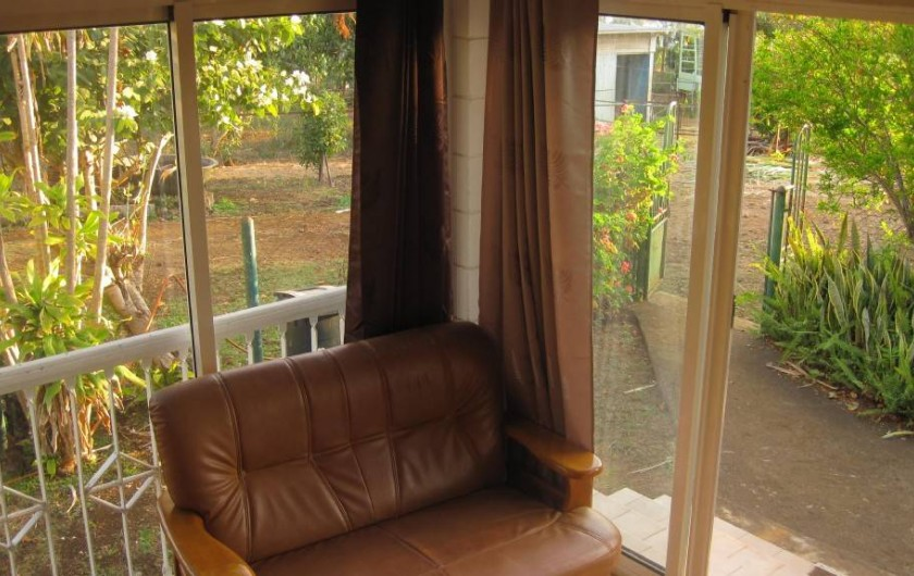 Location de vacances - Gîte à La Saline Les Hauts - terrasse