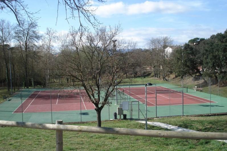 Location de vacances - Mas à Maçanet de la Selva - istas de Tenis