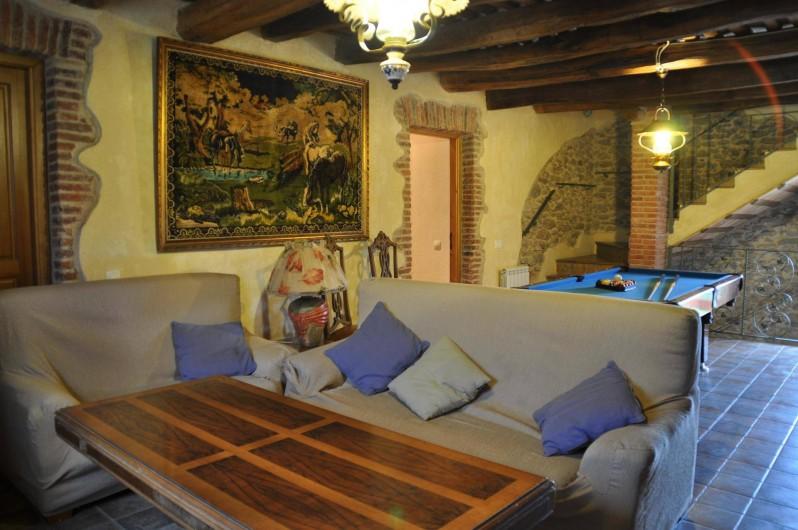 Location de vacances - Mas à Maçanet de la Selva - Salon