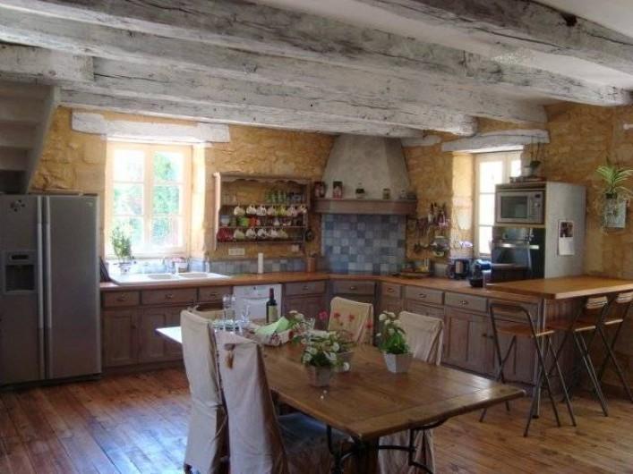 Location de vacances - Gîte à Sainte-Mondane - Cuisine