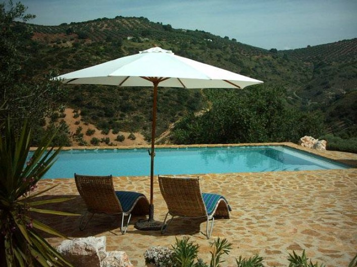 Location de vacances - Gîte à Fuentes de Cesna - La piscine, Cortijo las Rosas