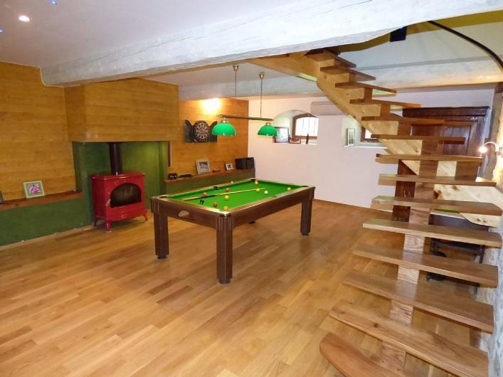 Location de vacances - Gîte à Carcassonne - Salle billard jeux