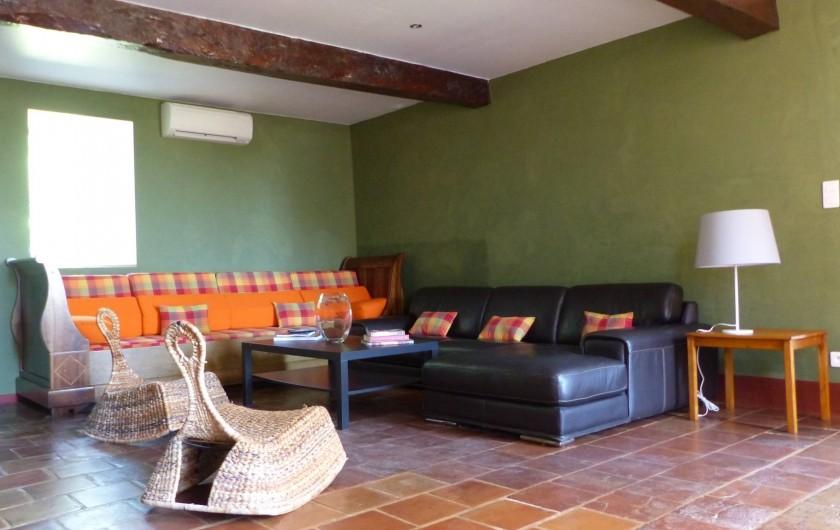 Location de vacances - Gîte à Carcassonne - Salon