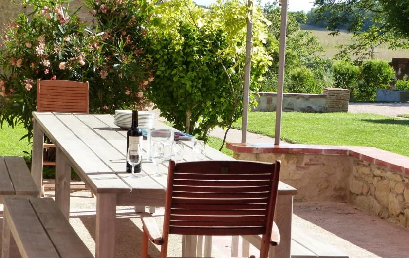 Location de vacances - Gîte à Carcassonne - Terrasse