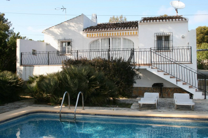 Location de vacances - Villa à Xàbia - Vue de la maison