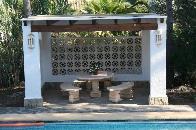 Location de vacances - Villa à Xàbia - Pergola