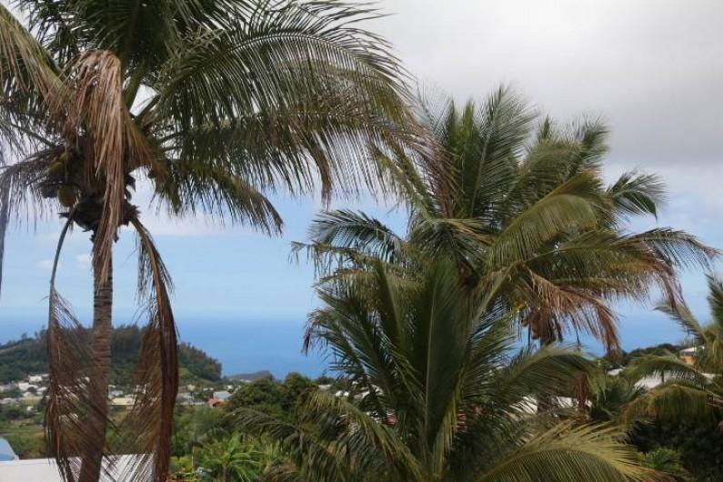 Location de vacances - Gîte à Petite Île - Terrasse panoramique