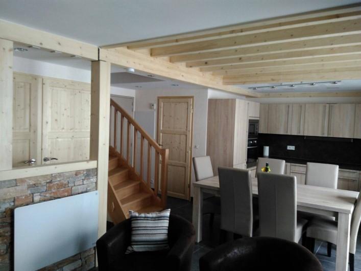 Location de vacances - Appartement à Le Corbier - Entrée / séjour/cuisine