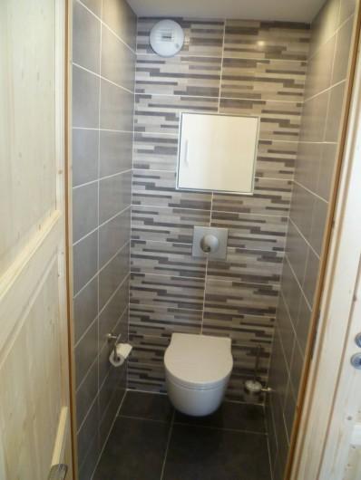 Location de vacances - Appartement à Le Corbier - WC  séparé