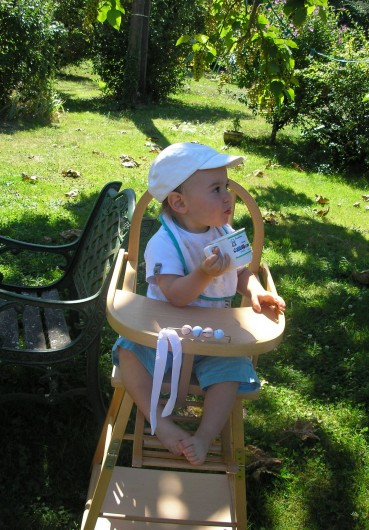 Location de vacances - Gîte à Saint-Rabier - Côté enfants, Chaise haute