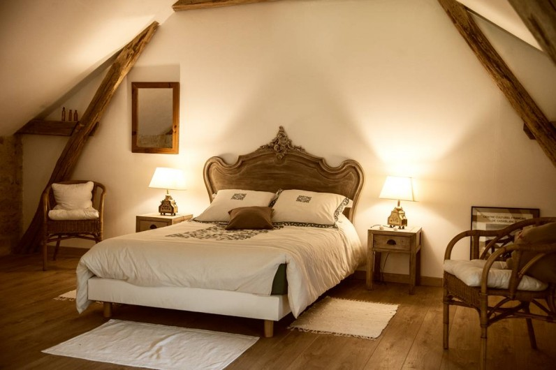 Location de vacances - Gîte à Saint-Rabier - Chambre du haut