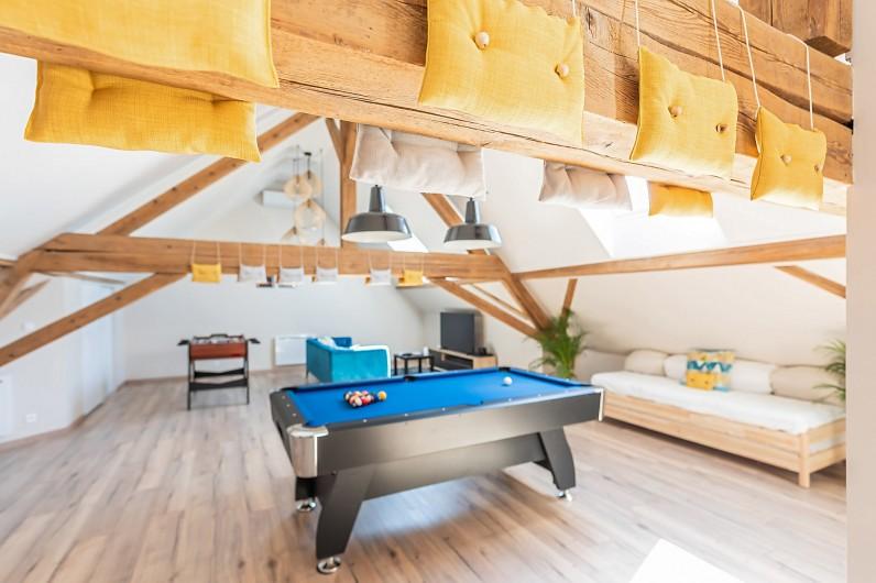 Location de vacances - Gîte à Ungersheim - La Salle de Jeux / Billard