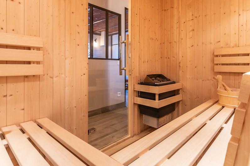 Location de vacances - Gîte à Ungersheim - Le Sauna Finlandais