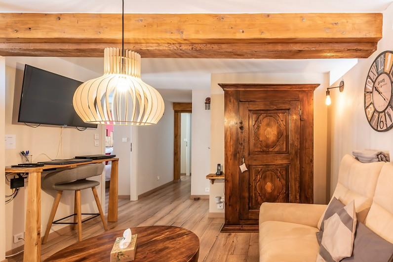 Location de vacances - Gîte à Ungersheim - Le Salon / Bureau