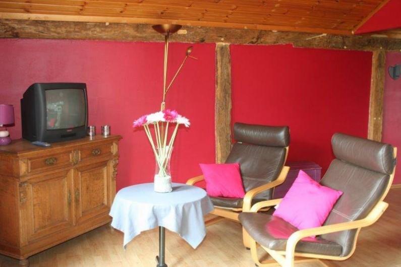 """Location de vacances - Gîte à Durbuy - salon de notre gîte """"Au Cap"""""""