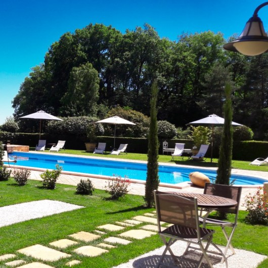 Location de vacances - Chambre d'hôtes à Saint-Crépin-et-Carlucet - Le parc