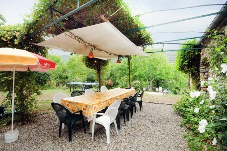 Location de vacances - Mas à Arles-sur-Tech - tonnelle