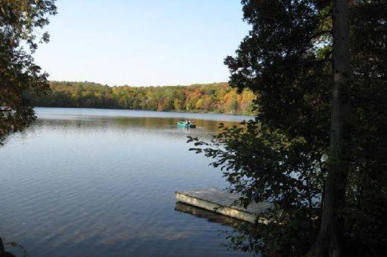 Location de vacances - Chalet à Shawinigan - Vue lac